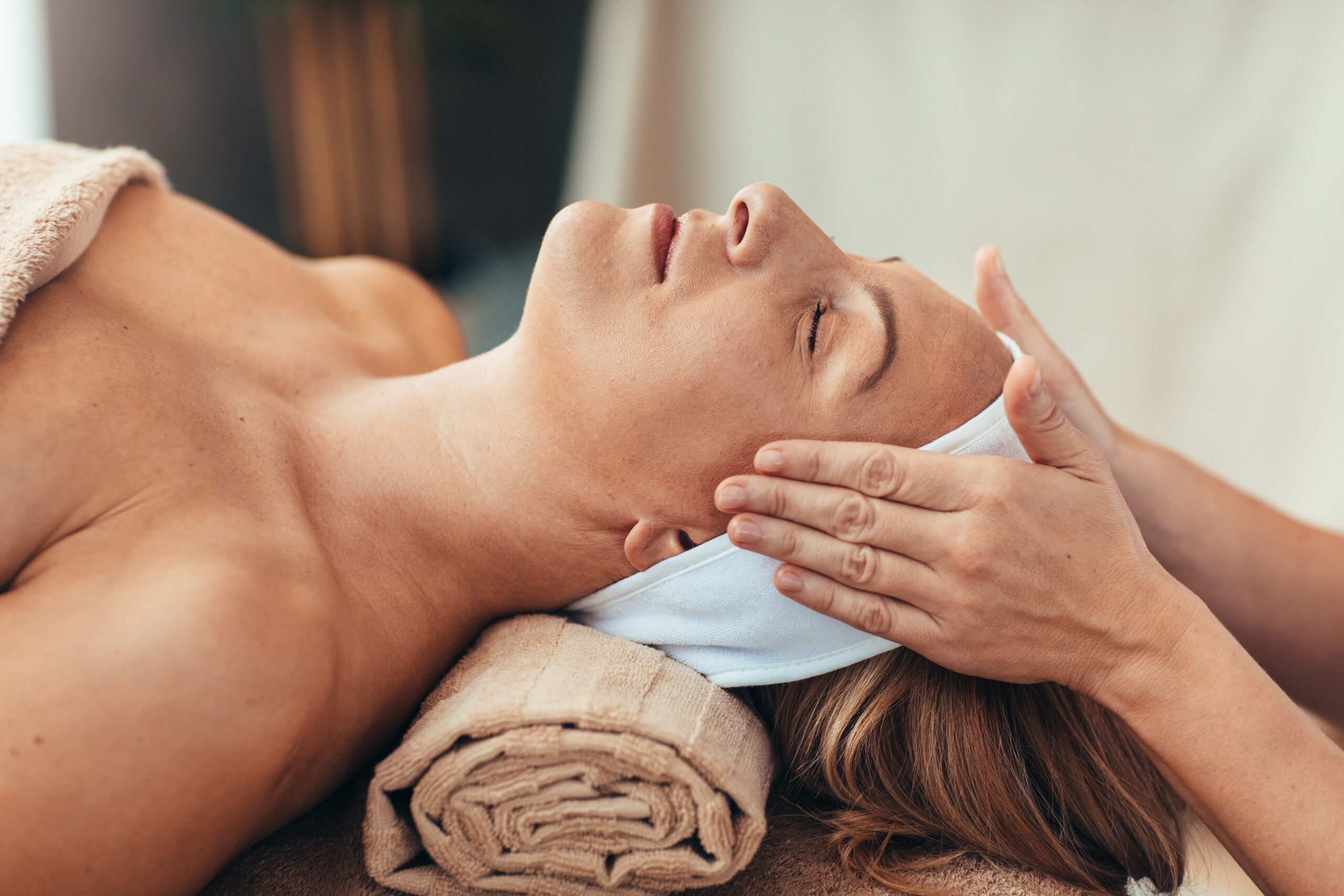 Relaxing Indian Head Massage
